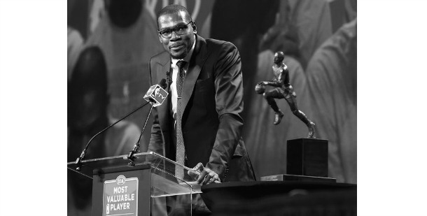 Kevin Durant NBA MVP Award Speech