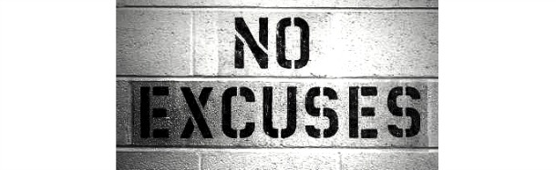 WINNERS DONT MAKE EXCUSES