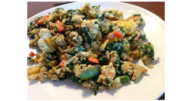 Eggs, Vegetables & Coconut Oil