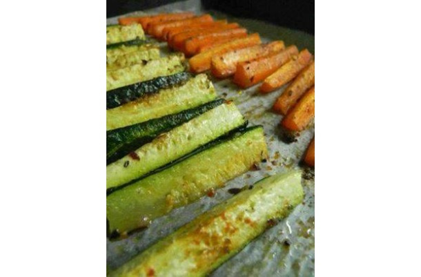 "Zucchini and Carrot ""Fries"""