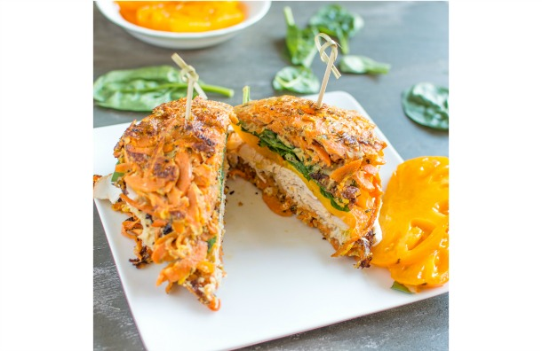 Sweet Potato Turkey Sandwich