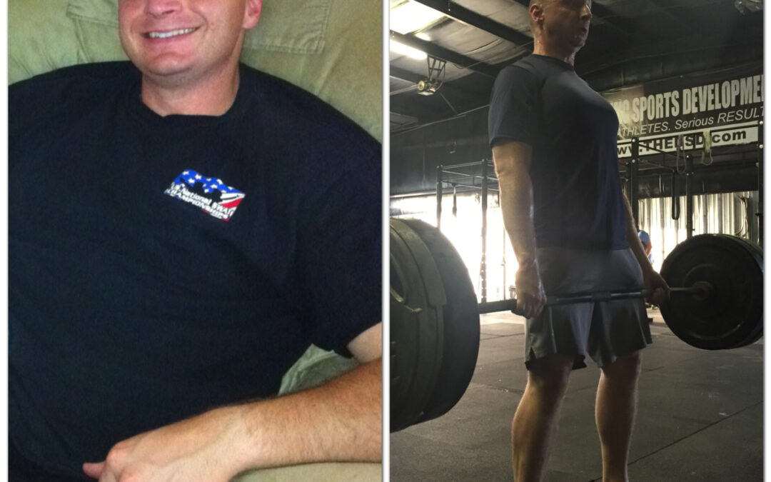 Matt McCord is the healthiest he has ever been in his life!