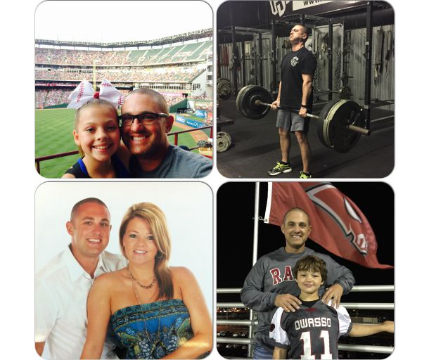 Jarrod Hart healthier lifestyle is leading his family to a healthier lifestyle!