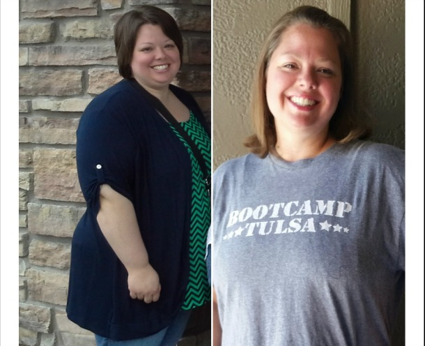 Kristi Main has lost 40 pounds in 9 months at BcT!