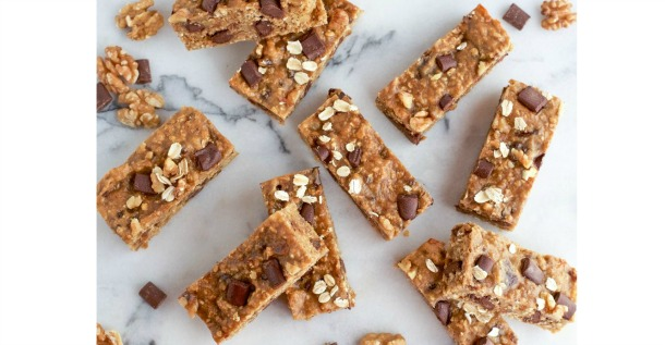 Chunky Monkey Oat Bars