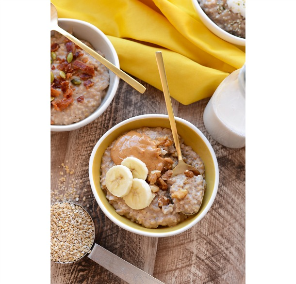 Crockpot Maple Cinnamon Steel Cut Oatmeal