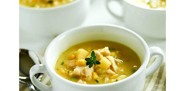Hearty Chicken & Corn Chowder