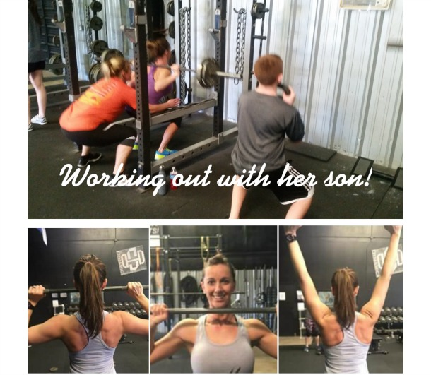 Lucy McMath found a physical as well as lifestyle change at Strong Women!