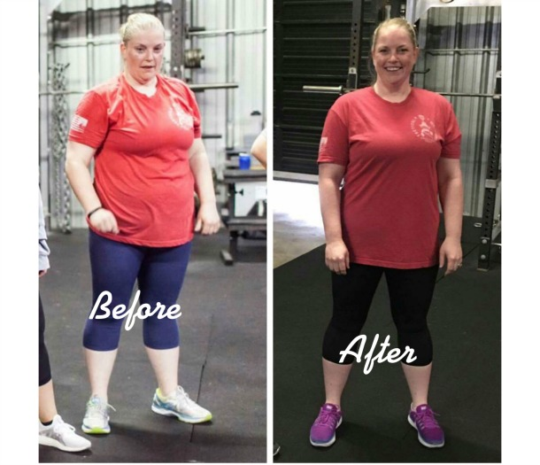 Ginger Ward lost 20 pounds, 25 inches in 6 months!