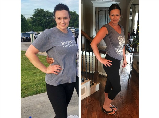Kimber Newton has lost 16 pounds in 5 months at BcT!
