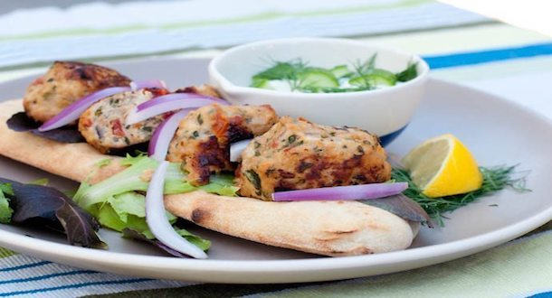 Mediterranean Chicken Meat Balls