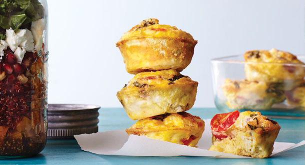 Make Ahead Mini Frittatas