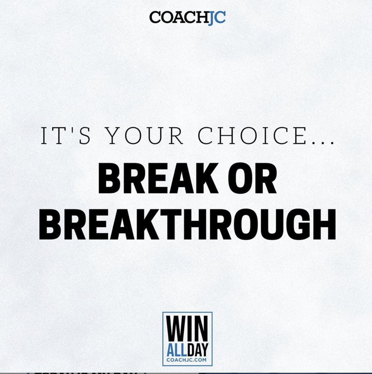 BREAK or BREAKTHROUGH!?!