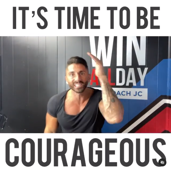 Episode 83: IT'S TIME TO GET COURAGEOUS!